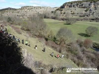 Senderismo Segovia - Riberas de los ríos Pirón y Viejo; licencia federativa de montaña